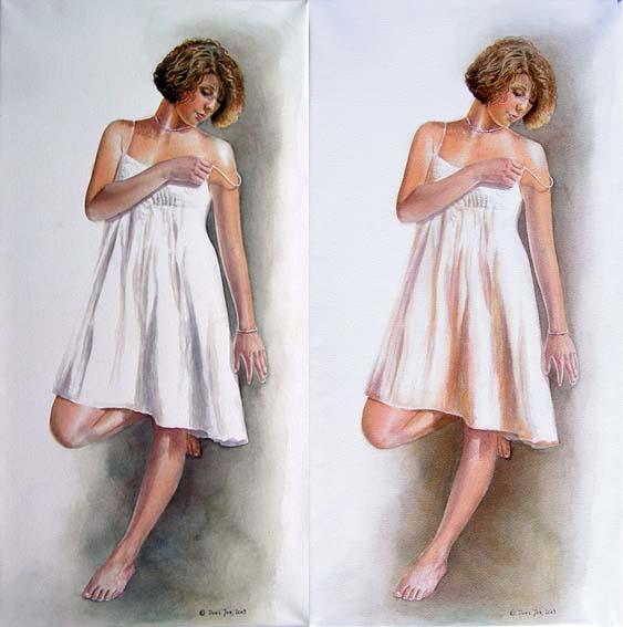 Paint Colour Dresses