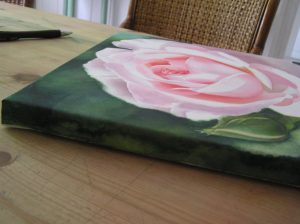 Learn to make your own watercolor canvas - stretch watercolor paper