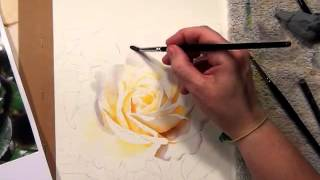 Watercolor Video online by Doris Joa