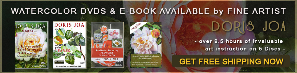 Watercolor DVDs, Videos and Ebook about Watercolor Painting