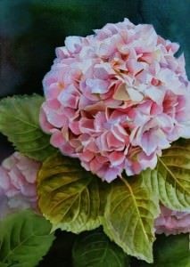 Flower Paintings in Oil and Watercolor