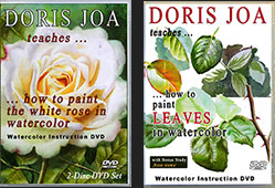 Stunning Watercolor DVDs with indepth instruction on how to paint