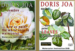 Watercolor DVDs by Doris Joa