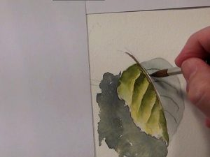 Painting Tips for painting leaves without reference photo