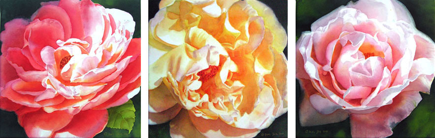 Learn to paint stunning flowers