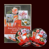 Watercolor DVD & Video - Paint Realistic Stunning Flowers