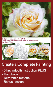 how to watercolor - watercolor dvd art instruction and online video