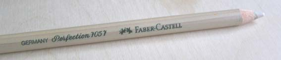 eraser from Faber Castell - Perfection 7057, get highlights back