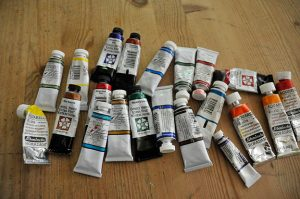 Watercolor Paints - Tools for Beginners