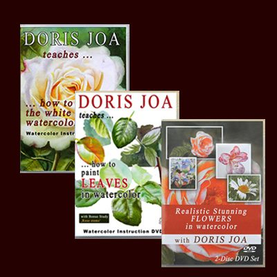 Watercolor DVDs & Videos by Doris Joa