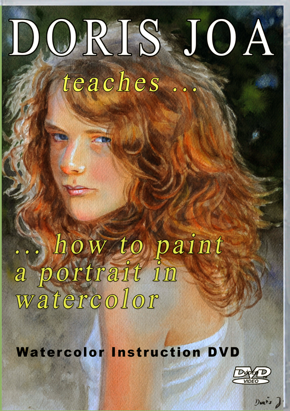 Watercolor portrait workshop dvd learn to paint skin for Learn to paint with oils for free